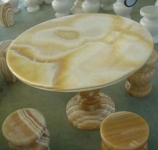 Yellow Onyx Slab/ Honey Onyx for Flooring Tile pictures & photos