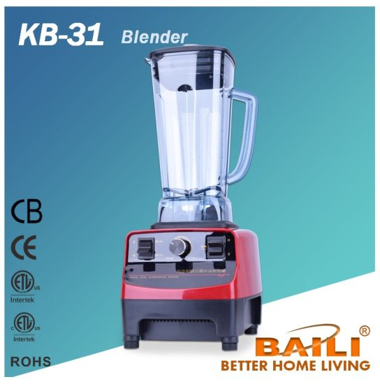 Hot Sale 2L Heavy Duty Professional Blender, Food Processor