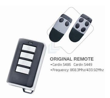 Rolling Code Remote Replace with Original Remote Cardin