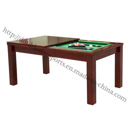 2 in 1 Pool Dining Table Multi-Functional Pool Table pictures & photos