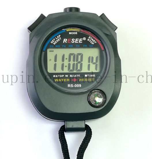 OEM Multifunctional Waterproof Stopwatch with Compass for Referee pictures & photos
