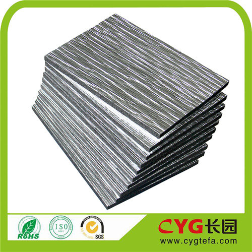 Reflective Backed Aluminium Bubble Foil XPE Foam Heating Insulation pictures & photos