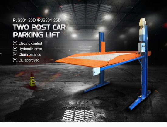 Low Price Suitable for Small Car Single Cylinder Car Parking Lift