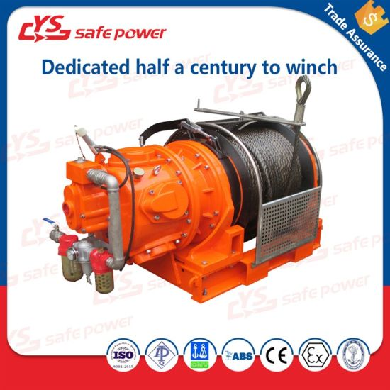ABS API Certified Auto Brake Air Winch for Offshore and Mining From 1t to  10t