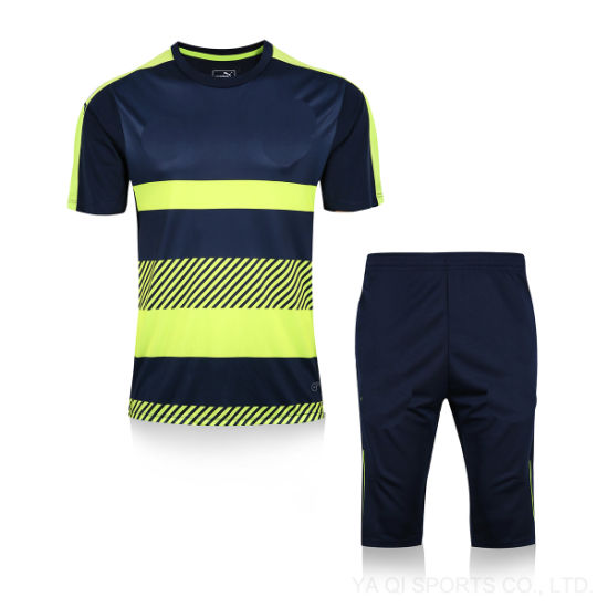 Custom Breathable Short Sleeve Football Jersey Dry Fit training Soccer  Jersey 79adc3293