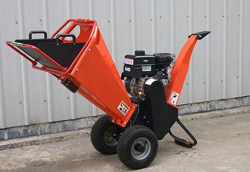 15HP Gasoline Engine Powered Professional Garden Wood Chipper Shredder