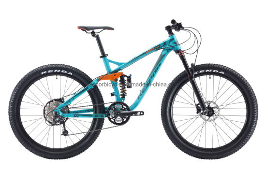 High Quality Moutain Bike Carbin 1.0 Alloy Frame Mountain Bicycle pictures & photos