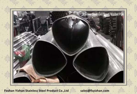 304 Stainless Steel Welded Special Shaped Tube pictures & photos