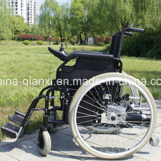 Folding Electric Wheelchair with Ce pictures & photos