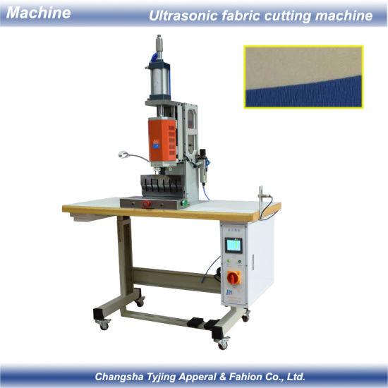 Ultrasonic Seamless Fabric Cutting Sewing Bonding Machine