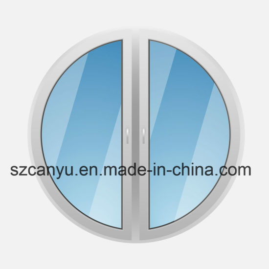 Aluminum Round Window Classcial Style Security Window pictures & photos