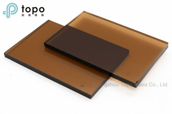 China 4mm-12mm Colored Bronze Tinted Brown Float Sheet Glass (C-GB ...