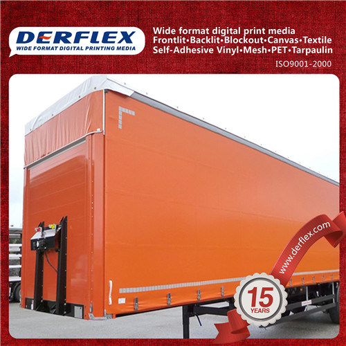 Heavy Duty PVC Truck Tarpaulin Truck Side Curtain