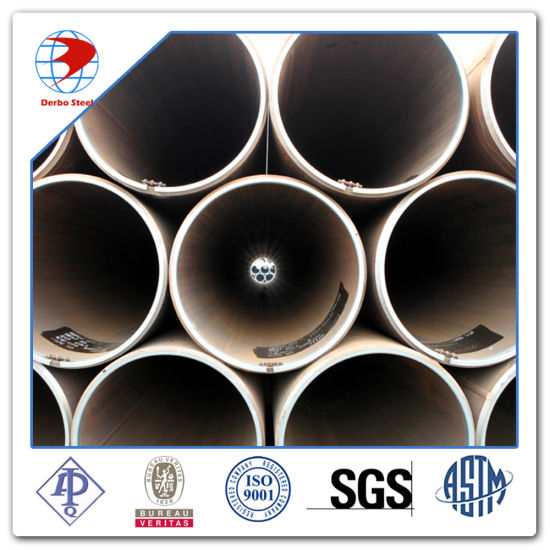 "API 5L X52 Psl2 18 Inch Carbon Steel Line Pipe Wall Thickness 1/2"" 12m Be End Saw pictures & photos"