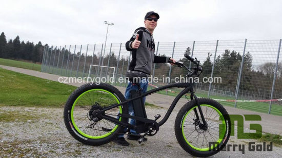 Powerful 48V 500W 1000W Fat Tire Electric Bike Ebike Bicycle pictures & photos