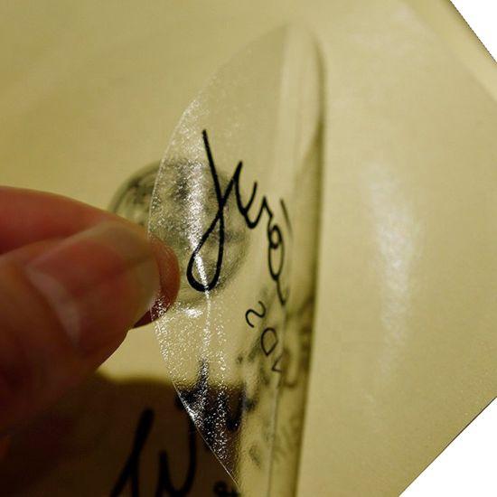 Custom Product Brand Logo Barcode Printing Adhesive Label Sticker