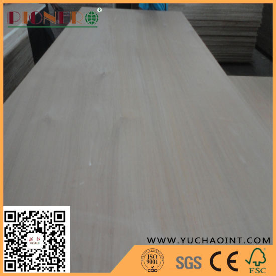 Natural Agathis Veneer Faced Blockboard with Paulownia Core