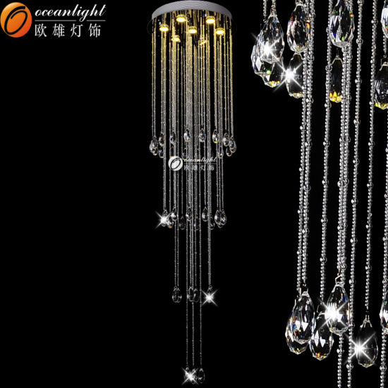 China Ocean Lighting Crystal Chandelier Simple Elegant Wholesale - Wholesale chandelier crystals catalog