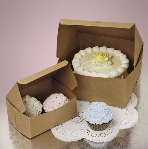 Custom Print Paper Cake & Pastry Boxes pictures & photos