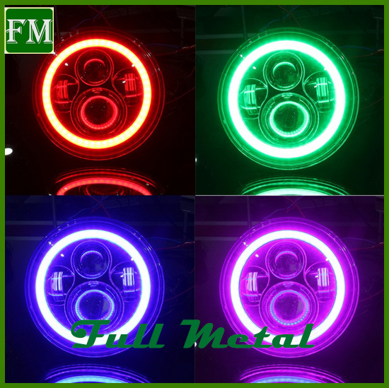 Flashing Automatic Control RGB Halogen LED Car Front Light pictures & photos