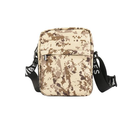 Odor Proof Carbon Lined Shoulder Bag for Weed Hemp Camouflage Pattern Design