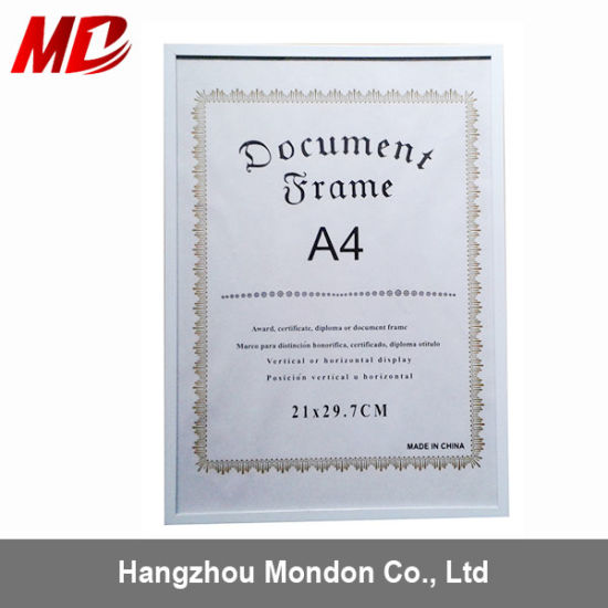 China Bulk PS Froam Picture Frames - China Wholesale Certificate ...
