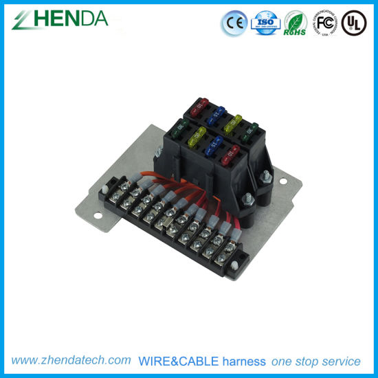 Electricity Power Cable with Number Identify Wire Harness on