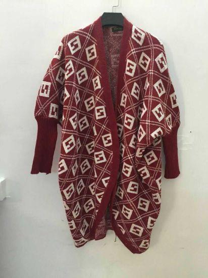 db668f008 2017 Women Leopard Designknit Sweater Wholesale Cardigan Ladies Poncho