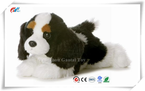 "Flopsie Plush Charles Dog 12"" Stuffed Lying Down Dog Toy"