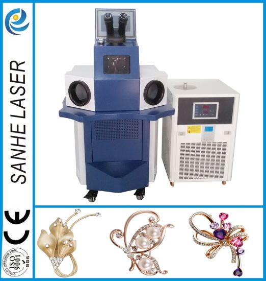Automatic Jewelry Laser Welding Laser Welder Machine for Gold Silver pictures & photos