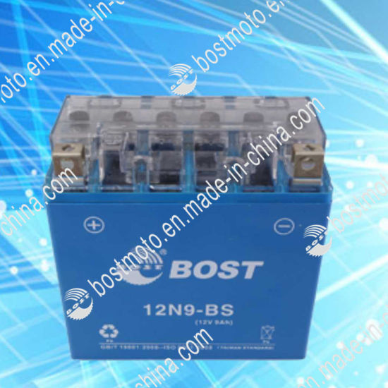 Maintenance Free 12n9a-BS 12V 7ah High Quality Mf Motorcycle Battery pictures & photos