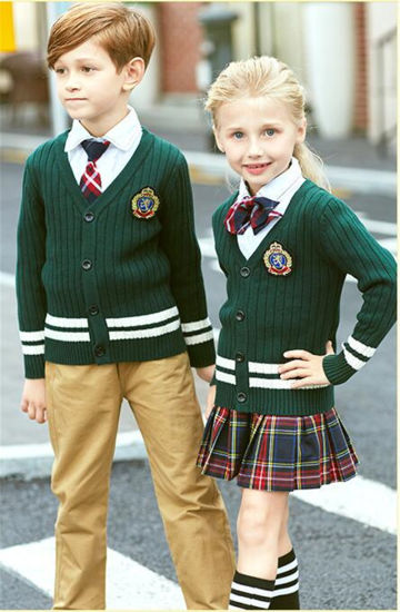 China Custom Fashion Design Middle School Student Uniform China Fashion School Uniform And Middle School Uniform Price