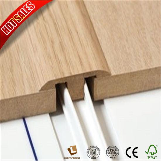 China Laminate Flooring Accessories Skirting 80mm Wallboard