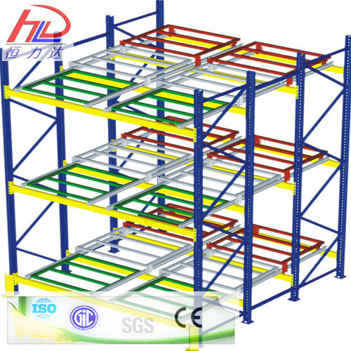 Customized Steel Rack Ce Approved Heavy Duty Push Back Racking pictures & photos