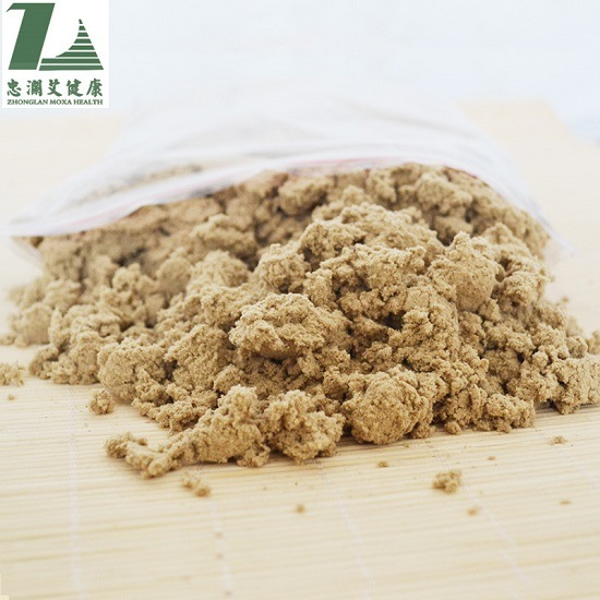 Zhonglan Pure Moxa Wool for Moxibustion/ Loose Moxa for Regulating Body