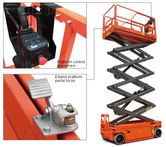 Hot-Selling Full Electric Scissor Aerial Work Platform pictures & photos