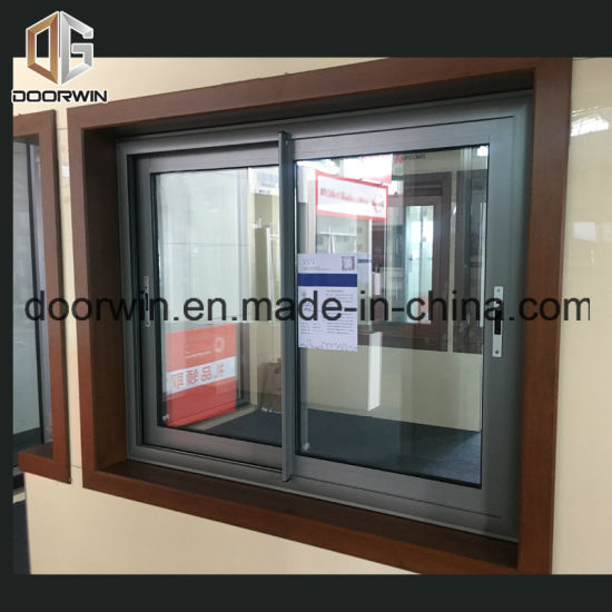 Aluminum Sliding Glazing Window