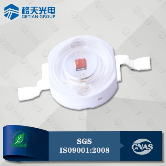 China SGS TUV BV Factory Audit 620-630nm 3W Red LED - China 3W Red