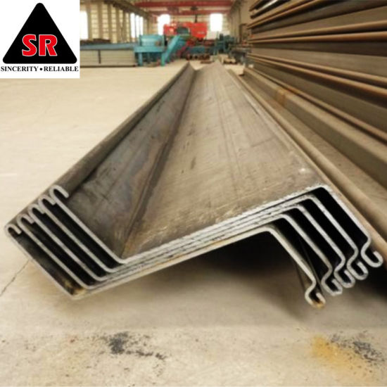 Factory Direct Sale Hot Rolled Q235B / Q345b Reuse Bridge Foundation Used  Steel Z Type Sheet Pile