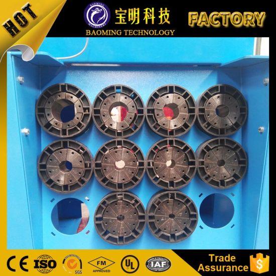 China Ce Finn Power P20 P32 Hydraulic Hose Manual Crimping