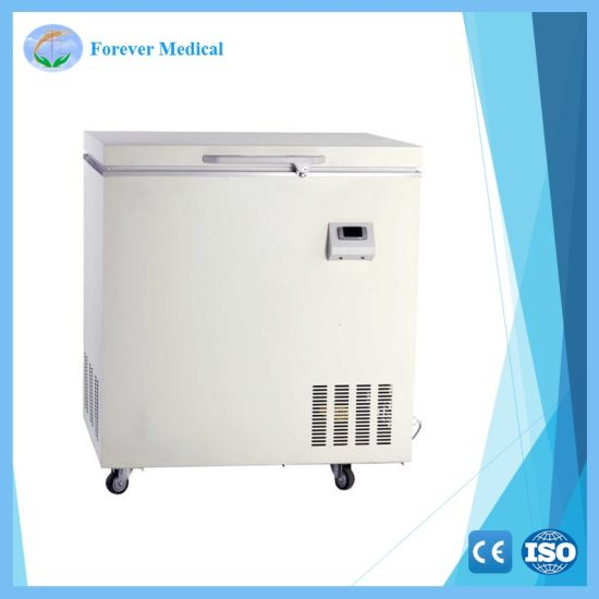 Medical Used Horizontal -40degree Deep Refrigerator Freezer (YJ-40-568-WA)