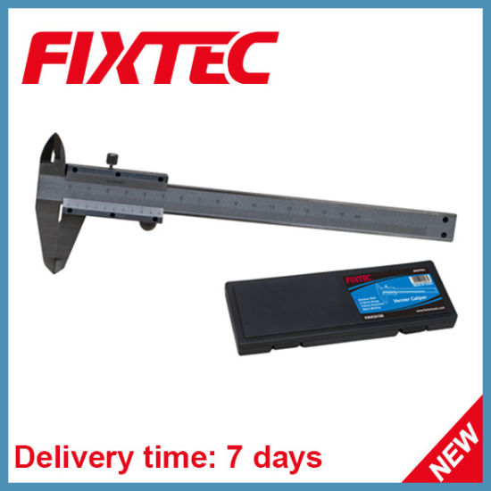 China Fixtec Hand Tools 0-150mm 0 02mm Stainless Steel Vernier