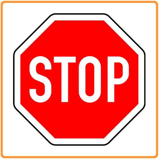 China Reflective Traffic Control Sign Safety Stop Warning Signs