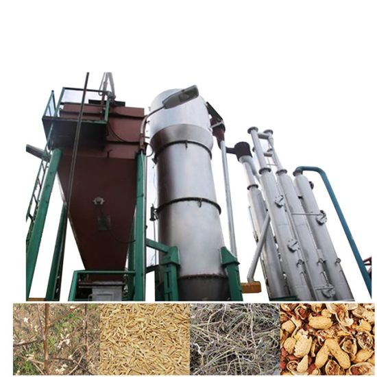 China Biomass Pyrolysis Plant Biomass Gasifier Used in
