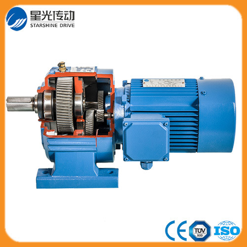 R37 Series Helical Gear Reducer Model
