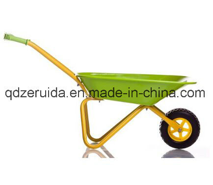 Popular Kids Wheel Barrow for Sale (WB0402) pictures & photos