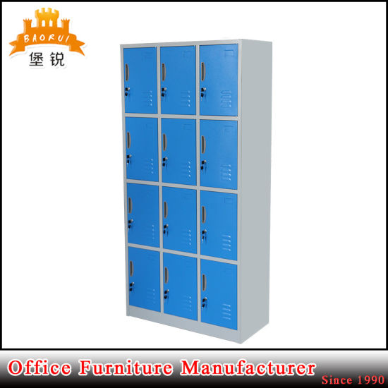 Jas-031 High Quality Iron Dressing Storage Metal Cabinet Wardrobe pictures & photos