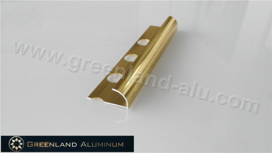 3867d763b4abe China 10mm Bright Gold Aluminum Radius Floor Trim - China Aluminium ...