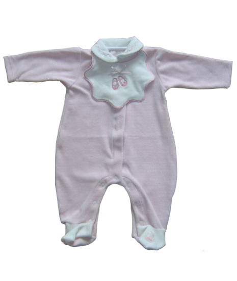 Customized 0-24m Romper Onsie Baby Clothes Children's Clothes with Peter Pan Collar
