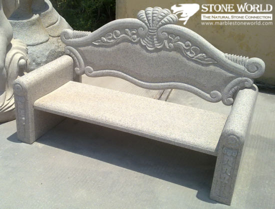 Natural Granite Stone Table & Chair for Garden Decoration (CT04)